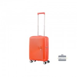 Rokas bagāža koferis American Tourister Soundbox M Orange