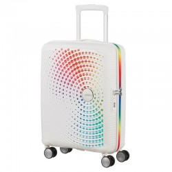 Vidējais koferis American Tourister Soundbox V rainbow