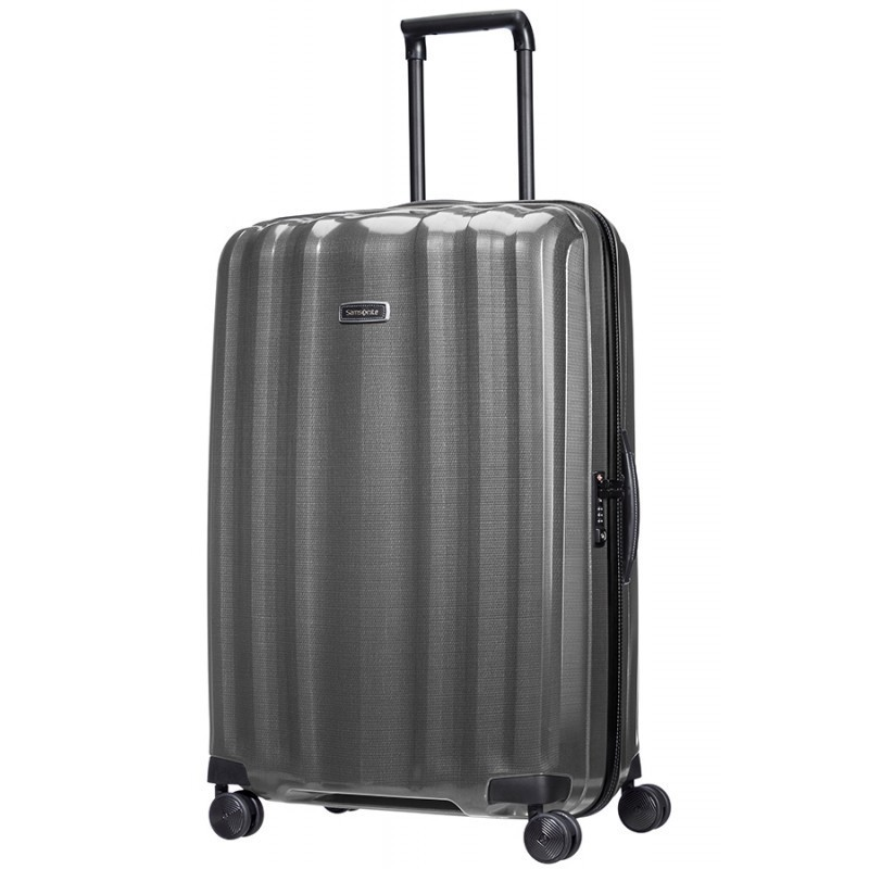 XXL Liels koferis Samsonite Lite-Cube DLX LD Eclipse Grey