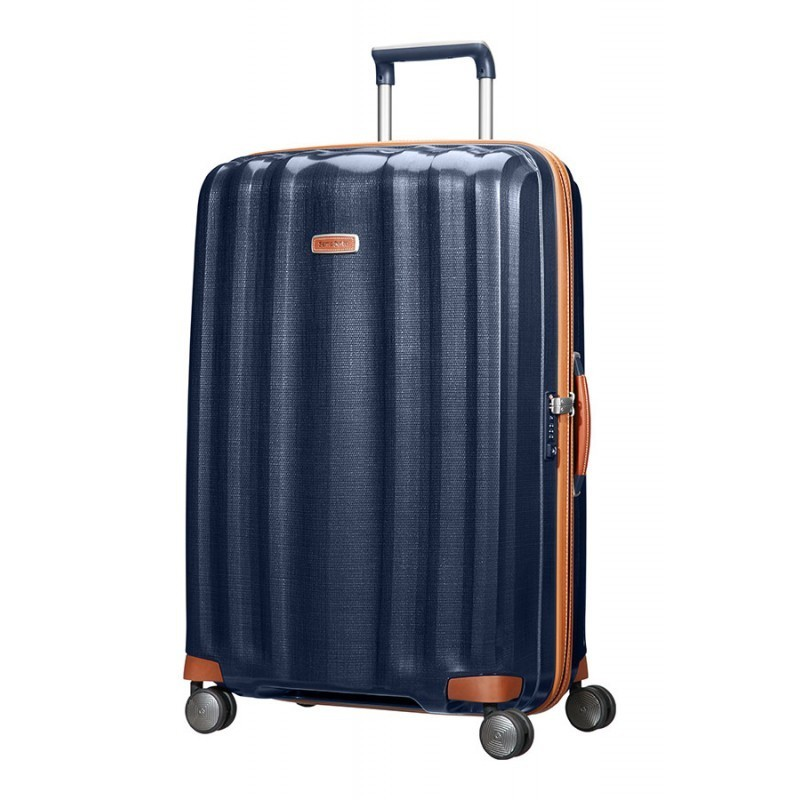 XXL Liels koferis Samsonite Lite-Cube DLX LD Midnight Blue