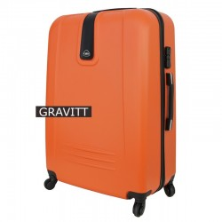 Liels koferis Gravitt 168A-D orange