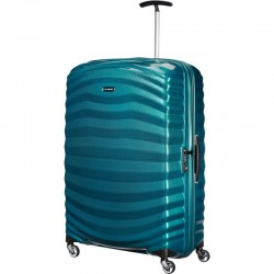 XXL Liels koferis Samsonite Lite-Shock LD Petrol Blue