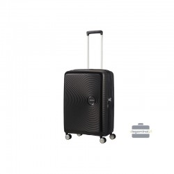 Vidējais koferis American Tourister Soundbox V black