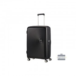 Liels koferis American Tourister Soundbox D black