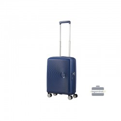 Mazais koferis American Tourister Soundbox M dark blue