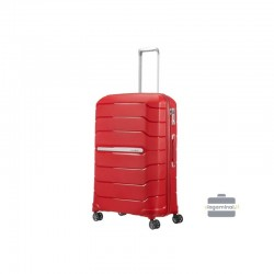 Liels koferis Samsonite Flux D Sarkans
